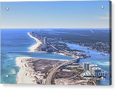 Perdido Pass Bridge 4319 Acrylic Print
