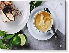Perfect Breakfast Acrylic Print by Happy Home Artistry
