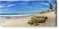 Acrylic Print featuring the photograph Perfect Day At Horseshoe Beach by Peter Tellone
