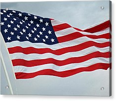 Perfect Flag Acrylic Print