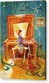 Perfect Harmony Acrylic Print by Marilyn Jacobson