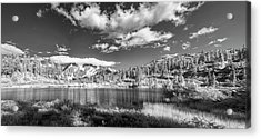 Acrylic Print featuring the photograph Perfect Lake At Mount Baker by Jon Glaser