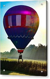 Acrylic Print featuring the photograph Perfect Landing by Kendall McKernon