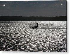Acrylic Print featuring the photograph Perfect Light At Lake Wollumboola by Miroslava Jurcik