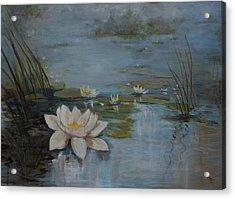 Perfect Lotus - Lmj Acrylic Print