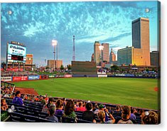 Acrylic Print featuring the photograph Oneok Stadium - Tulsa Drillers Stadium View by Gregory Ballos