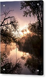 Perfect Reflections Acrylic Print by Annette Berglund