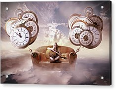 Acrylic Print featuring the digital art Perfect Timing  by Nathan Wright