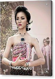Performance Of Beauty Acrylic Print