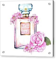 Perfume Florals Acrylic Print