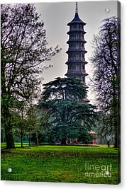 Pergoda Kew Gardens Acrylic Print