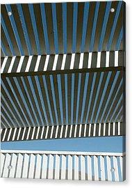 Pergola Bottom Acrylic Print by Stan Magnan