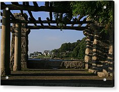 Pergola Acrylic Print by Christopher Kirby