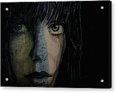 Periode Bleue Acrylic Print by Paul Lovering