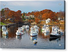 Acrylic Print featuring the photograph Perkins Cove by Darren White