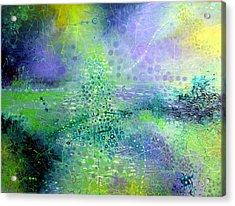 Permanent Green Acrylic Print by Lolita Bronzini