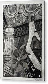 Perpeptual Pinwheel Acrylic Print