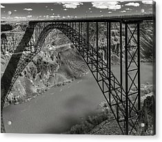 Perrine Bridge, Twin Falls, Idaho Acrylic Print