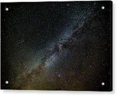 Perseid Meteor Acrylic Print
