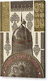 Persian Metalwork Acrylic Print