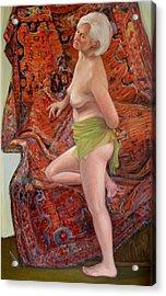 Persian Rug 4 Acrylic Print