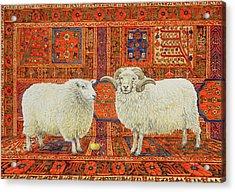 Persian Wool Acrylic Print by Ditz