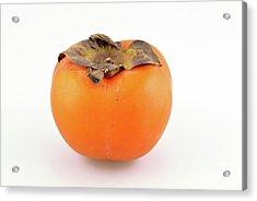 Persimmon Fruit Acrylic Print