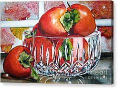 Persimmons Acrylic Print