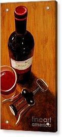 Wine Perspective Acrylic Print