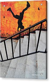 Perspective Acrylic Print by Merrimon Crawford