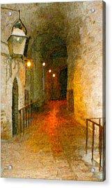 Perugia Grotto 1 Acrylic Print