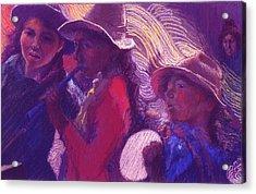 Peruvian Musicians Acrylic Print