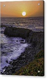 Pescadero Sunset Acrylic Print