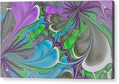 Petal Garden Acrylic Print
