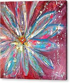 Petals Exploding Acrylic Print