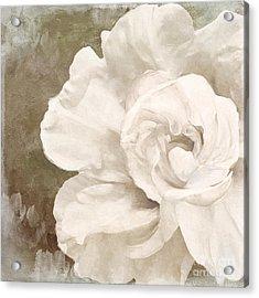 Petals Impasto II Acrylic Print