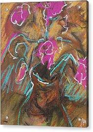 Petals Of Pink Acrylic Print