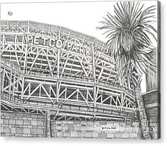 Petco Park Acrylic Print by Juliana Dube