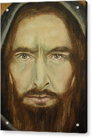 Peter Acrylic Print by Agnes V