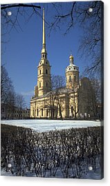Peter And Paul Cathedral Acrylic Print