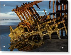 Peter Iredale Rust Acrylic Print
