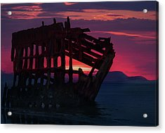 Peter Iredale Shipwreck Acrylic Print