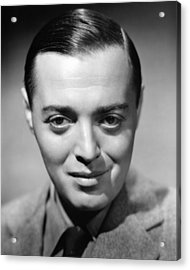Peter Lorre, 1938 Acrylic Print by Everett
