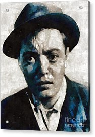 Peter Lorre Hollywood Actor Acrylic Print by Mary Bassett
