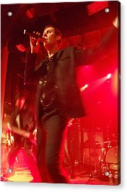 Peter Murphy 2 Acrylic Print by David Junod