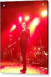 Peter Murphy 3 Acrylic Print by David Junod