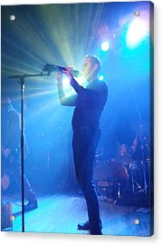 Peter Murphy 4 Acrylic Print by David Junod