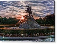 Peter Rides At Dawn Acrylic Print