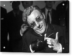 Peter Sellers As Dr. Strangelove Number One Color Added 2016 Acrylic Print