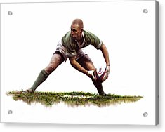 Peter Stringer Acrylic Print by James Robinson